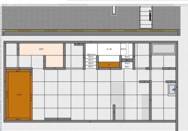 間取図から建築模型(住宅模型)を作ってみた_その①